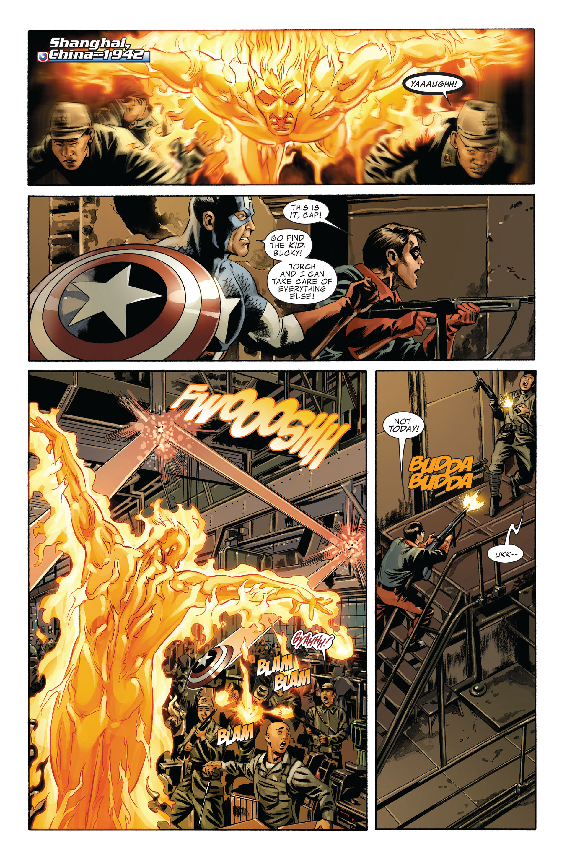 Captain America (2005) Issue #43 #43 - English 21