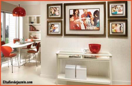 El vidrio y su utilidad como colgar cuadros - Como colocar cuadros en un salon ...