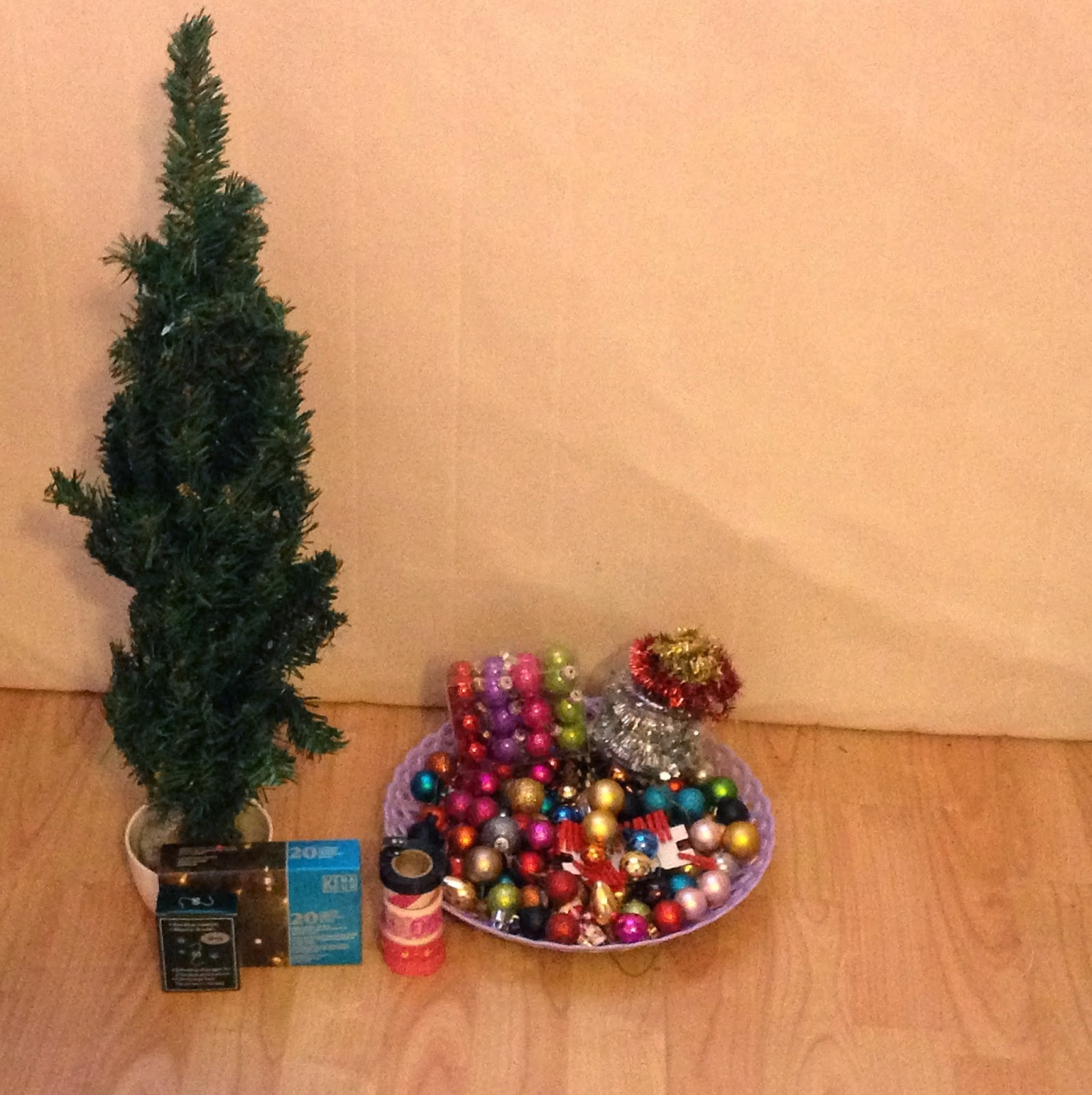 Thatslifebyv my lovely saturday for Mini kerstboom action