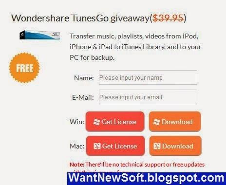 wondershare tunesgo registration code windows
