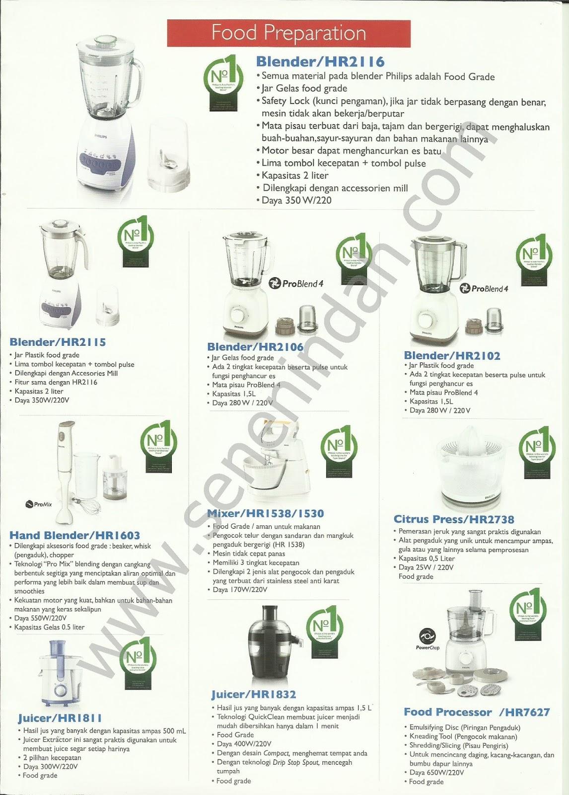Philips Complete 2015 Senen Indah Pusat Peralatan Rumah Tangga Hand Mixer Hr 1530