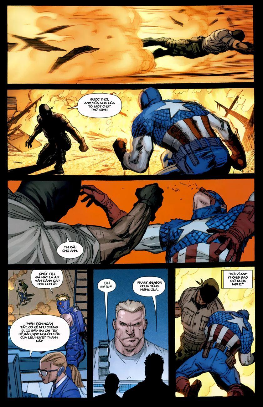 Ultimate Captain America chap 1 - Trang 23