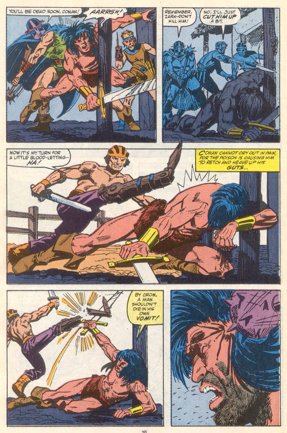 Conan the Barbarian (1970) Issue #222 #234 - English 17