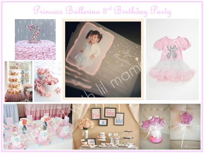 Princess Ballerina Birthday Party Ideas