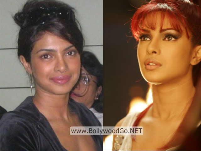 Priyanka Chopra Real Life Pictures without Makeup