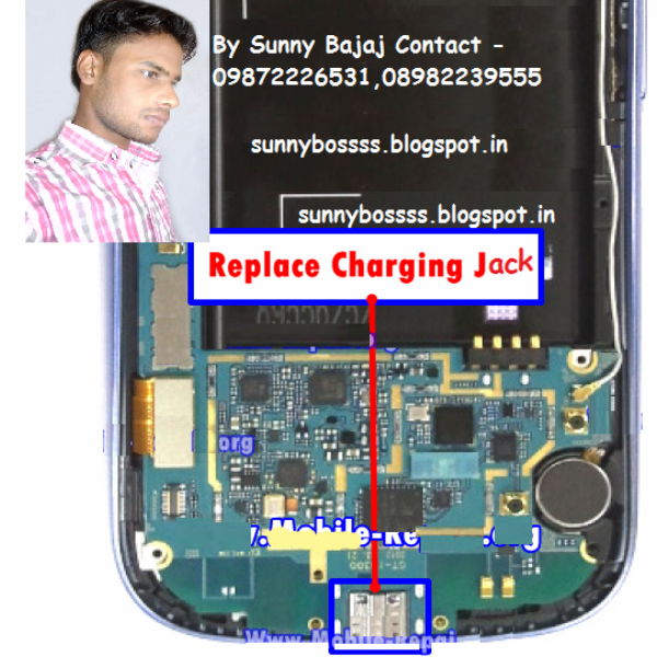 Samsung Galaxy S3 Charging Jack Problem Repair Solution