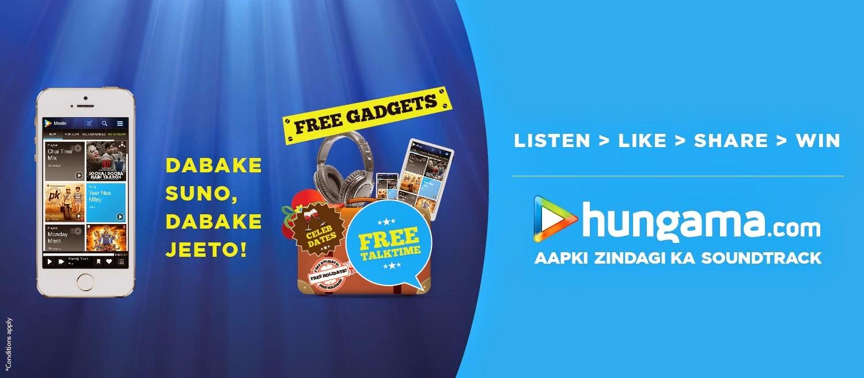 hungama free recharge