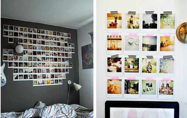 decorar paredes con polaroid - homepersonalshopper