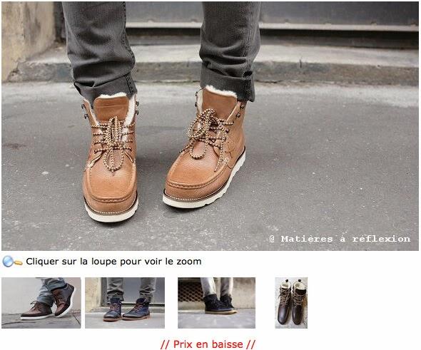 Pré-soldes chaussures Pointer
