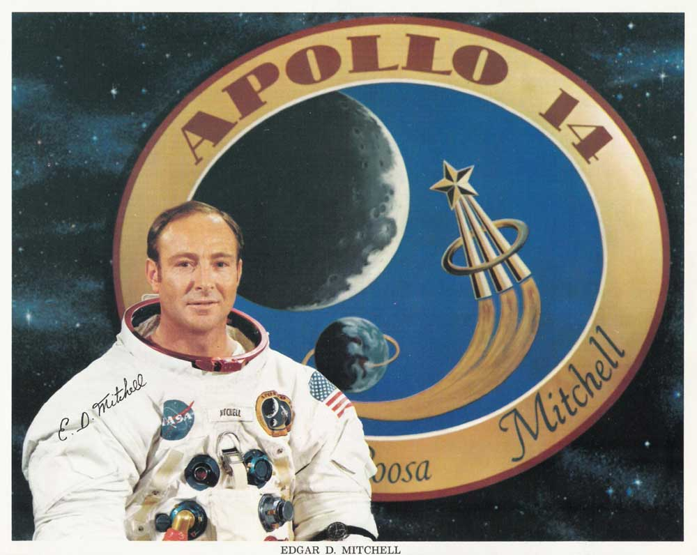 Dr Edgar Mitchell on Exobiology