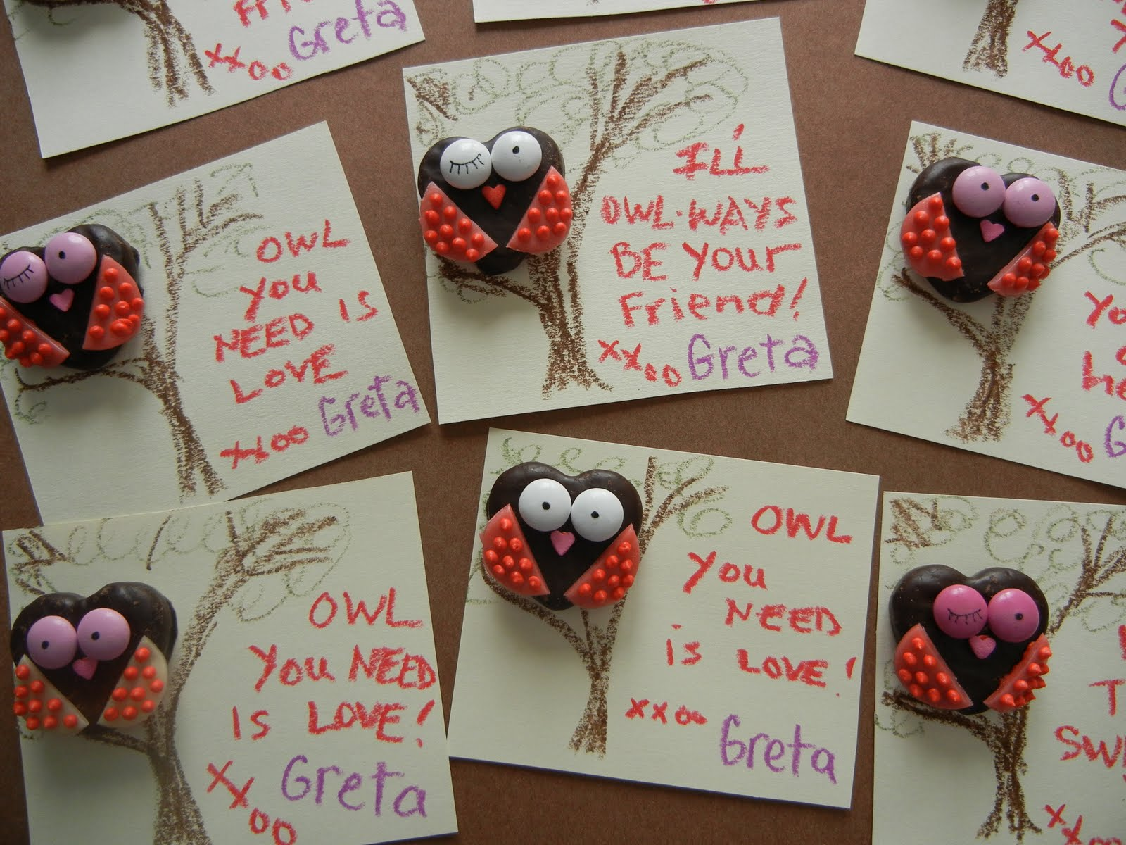 Owl Valentine Sayings
