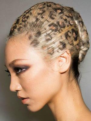 peinados 2014 estencil leopardo