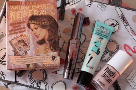 What's in my Benefit Beauty Bag