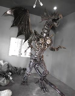 Imagenes de dragones de acero