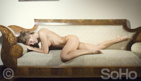 Isabel Cristina Estrada desnuda en la revista Soho