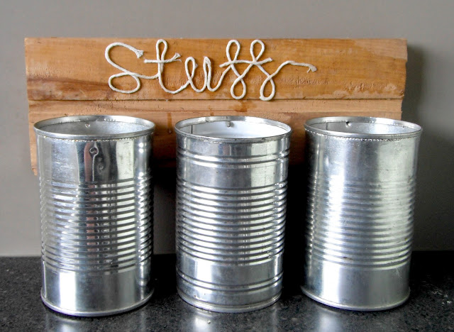 DIY Tin Caddy