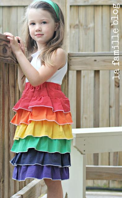 layered Polka Dot Dress Tutorial