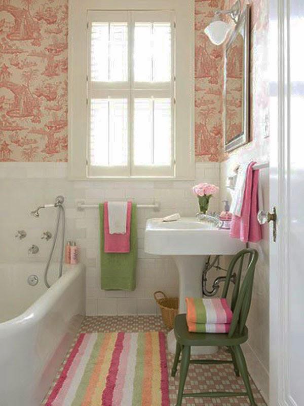gambar bilik mandi moden Kecil
