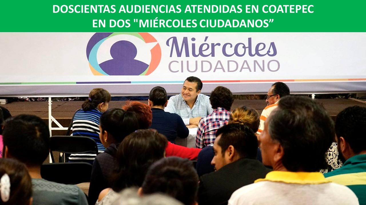 AUDIENCIAS CIUDADANAS EN COATEPEC