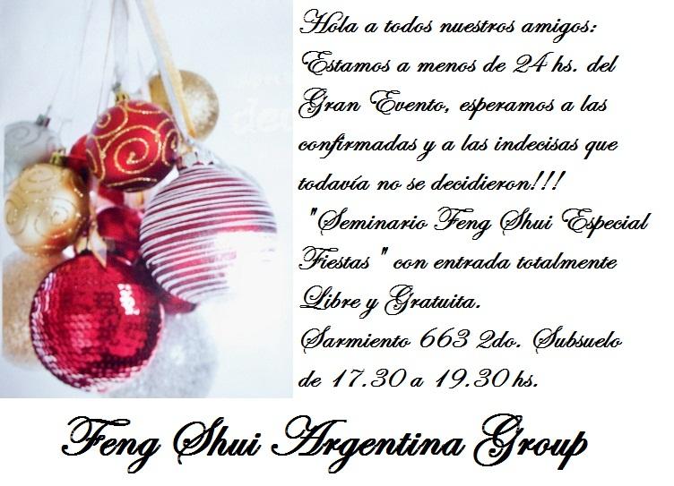 Feng shui argentina group seminario gratuito feng shui for Feng shui para todos