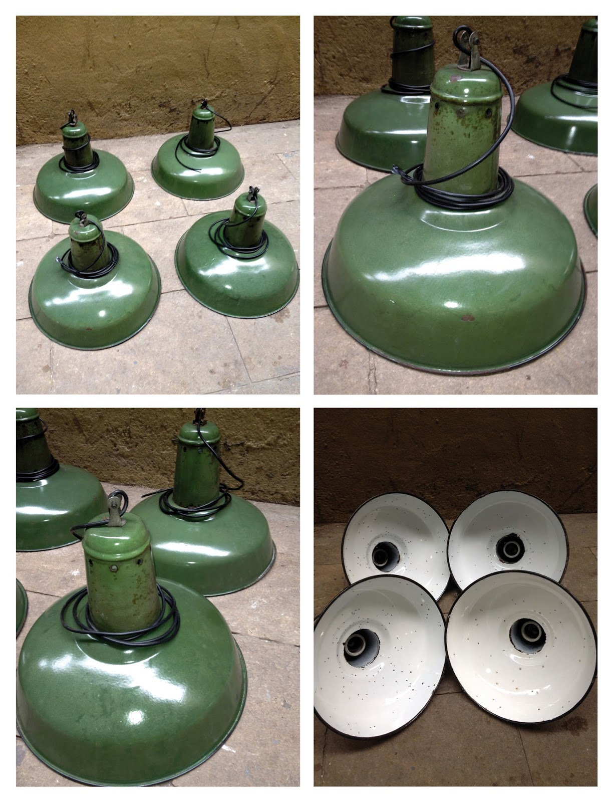 Antic beauty - Lamparas industriales vintage ...