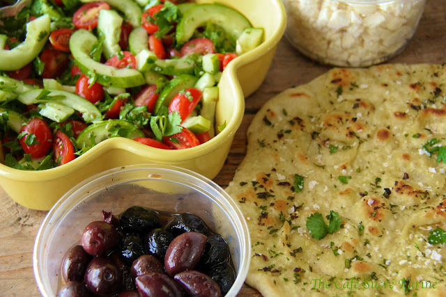 Herbed Naan - Fabulous, authentic tasting naan, perfect for wraps and to accompany curries, stews, soups ...