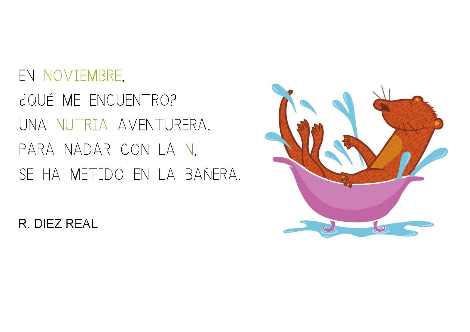 Aula de Infantil, 1º y 2º de Primaria de Viguera: RIMAS DE NOVIEMBRE