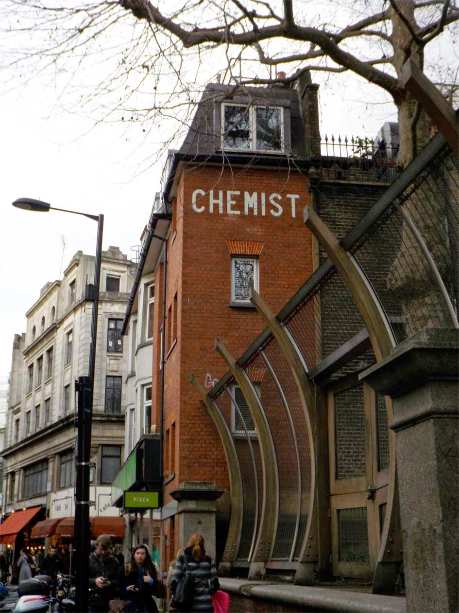 chemist sign soho london