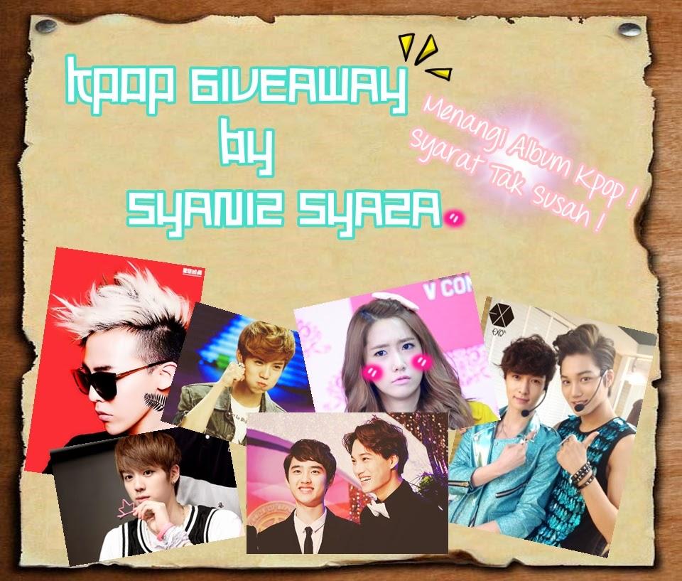 http://blogsyaniz.blogspot.com/2014/06/kpop-giveaway-by-syaniz-syaza.html