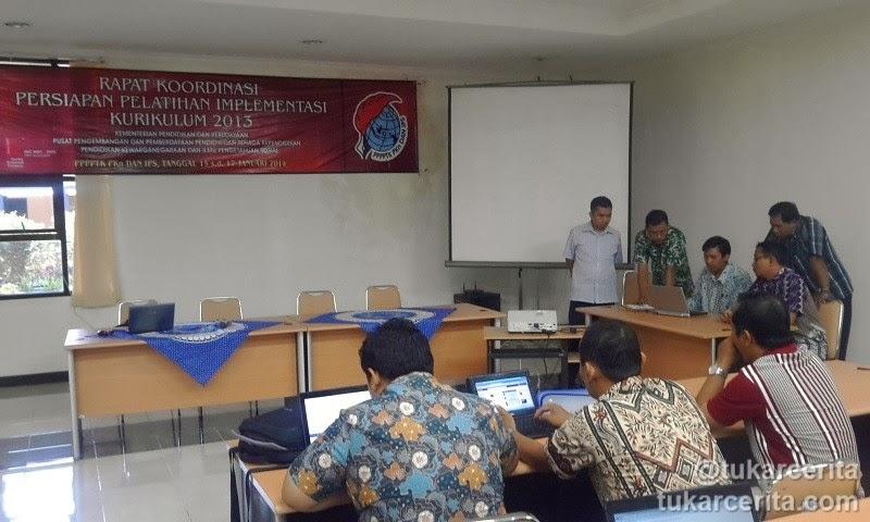 Rakor Kurikulum 2013 antara PPPPTK dan Dinas Pendidikan