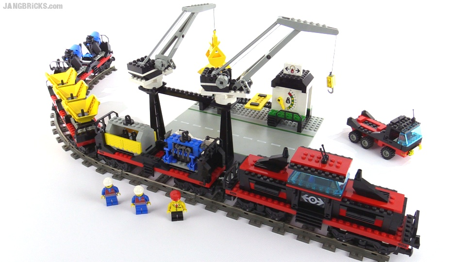 Lego city trains 60198