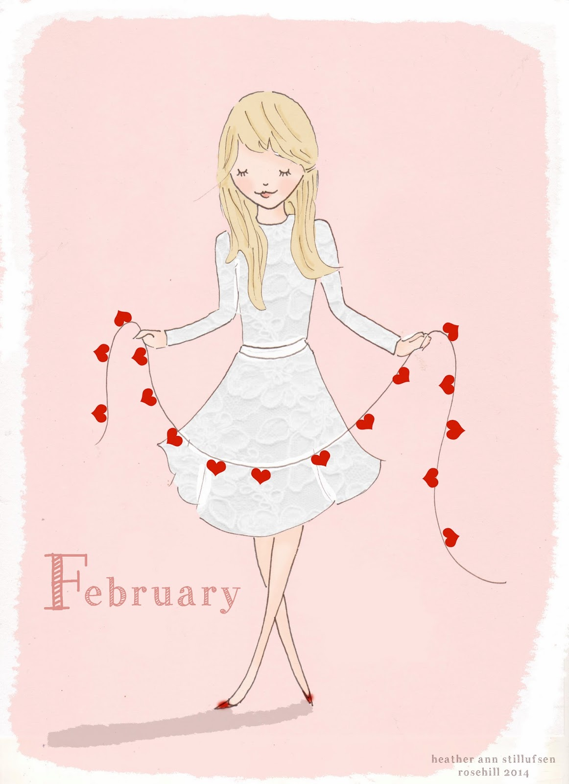 Rose Hill Designs Hello February