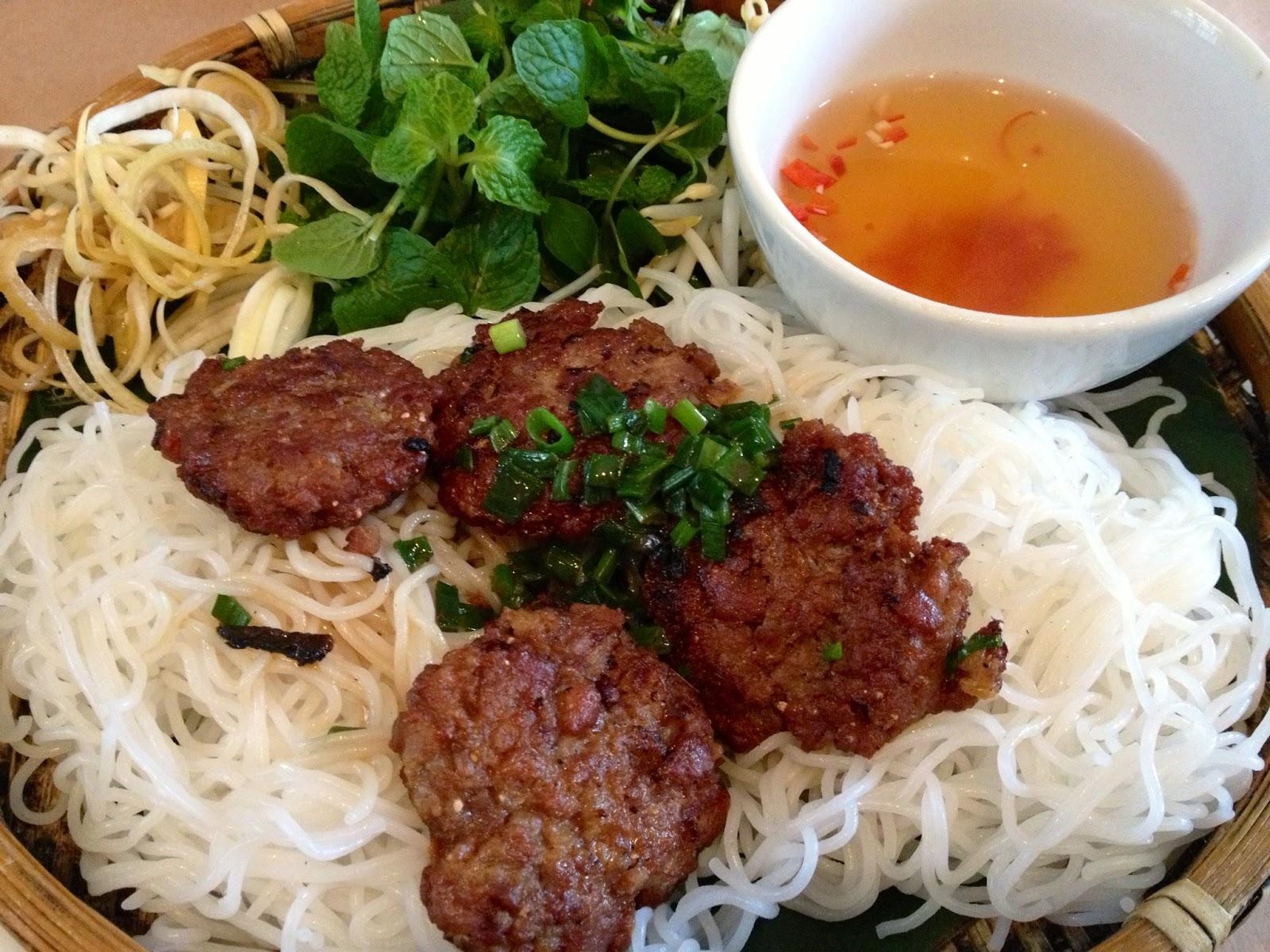 Bun Cha (Grilled Pork)