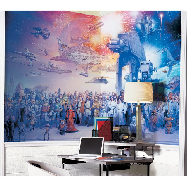 Star Wars Saga XL Wallpaper Mural