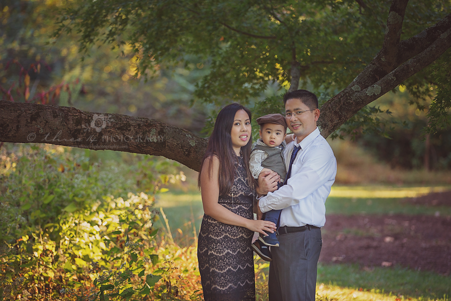 Outdoor Fall Family Session