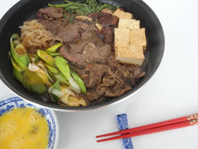 Ma vraie cuisine japonaise fondue japonaise sukiyaki - Ma vraie cuisine japonaise ...