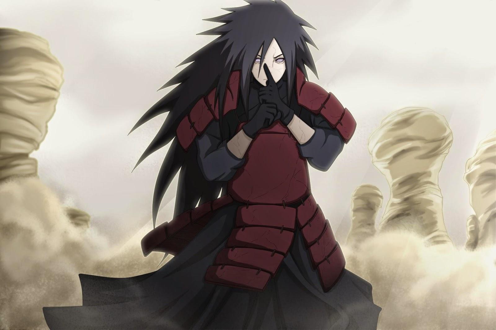 Dari anime paling dikenal sejagad setelah dihidupkan kembali oleh kabuto dia memasuki perang dunia ninja ke 4 dan menghancurkan pasukan aliansi shinobi