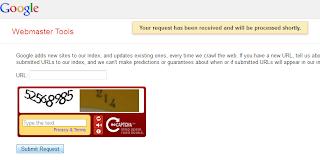 cara cepat agar terIndeks Google dengan Webmaster Tool