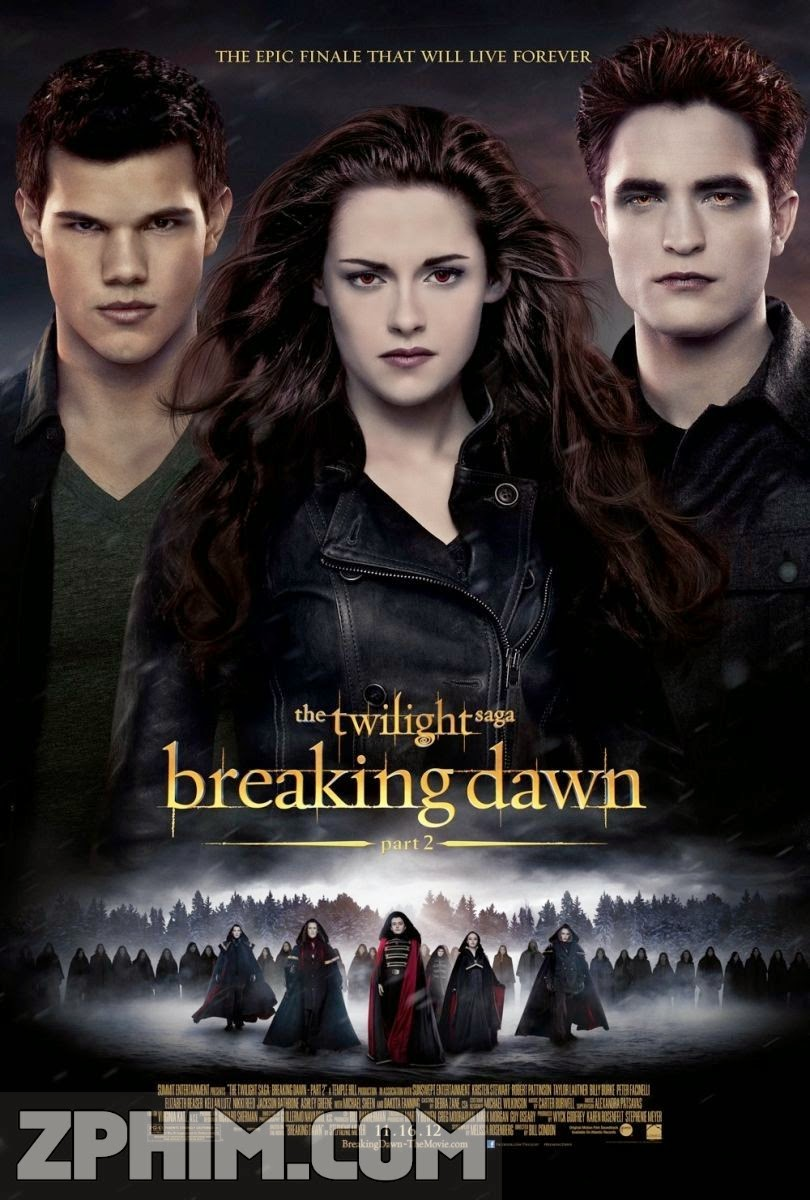 Hừng Đông 2 - The Twilight Saga: Breaking Dawn - Part 2 (2012) Poster