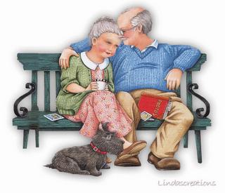 La abuela volvió a sonreír, dejo el bote y saco una barra de labios.