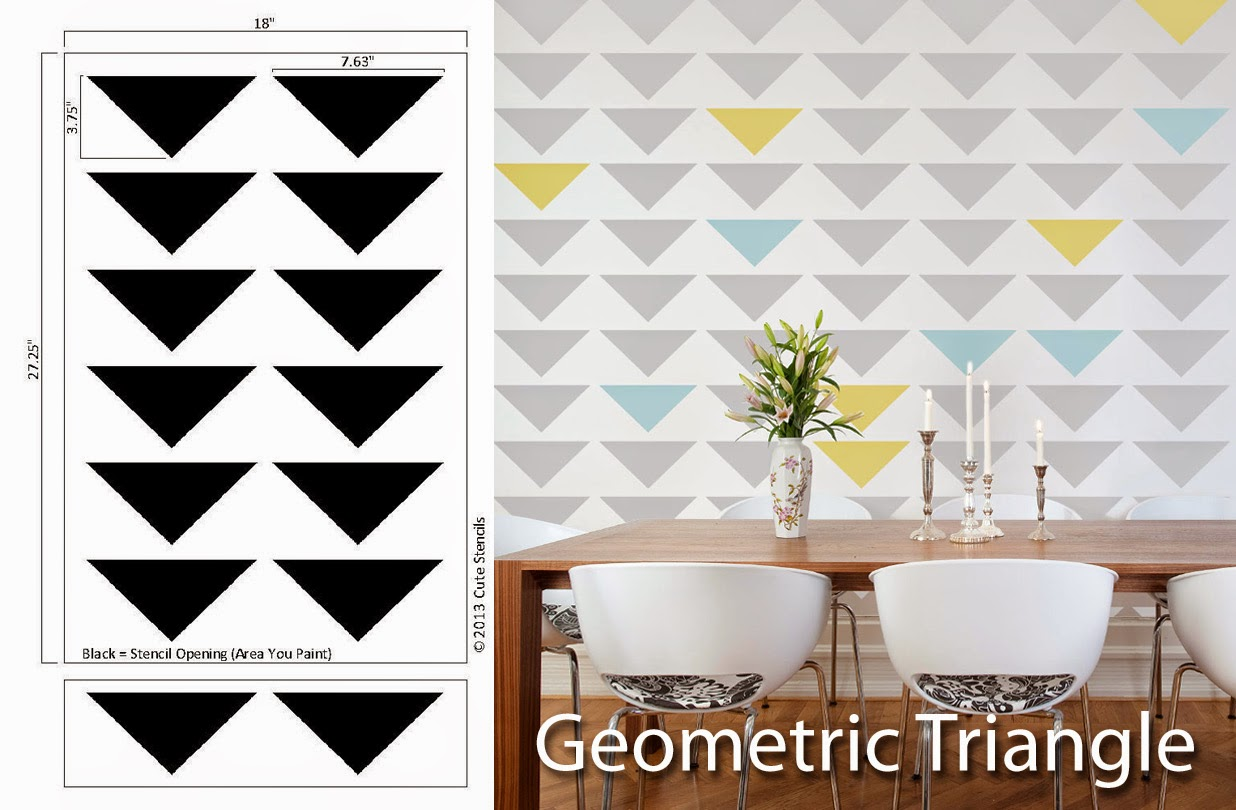 http://cutestencils.com/geometric_triangle.html