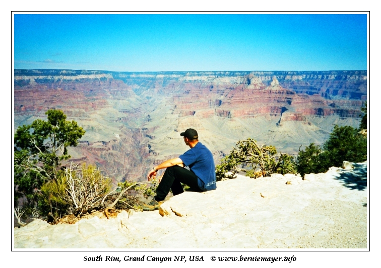 Bernie am Grand Canyon