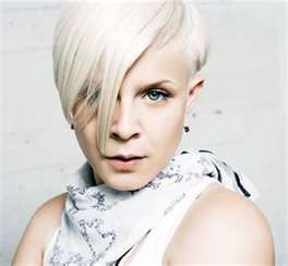 Swedish singer Robyn