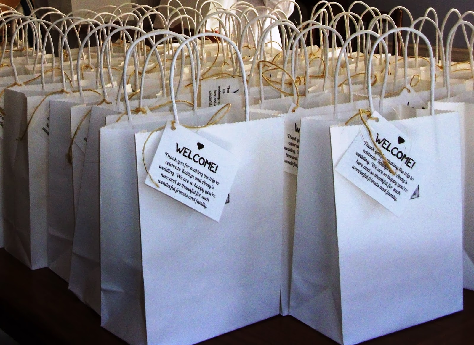 Wedding Gift Etiquette Out Of Town Guests : Lovely Ache: Wedding Welcome Bags for Out-of-Town Guests