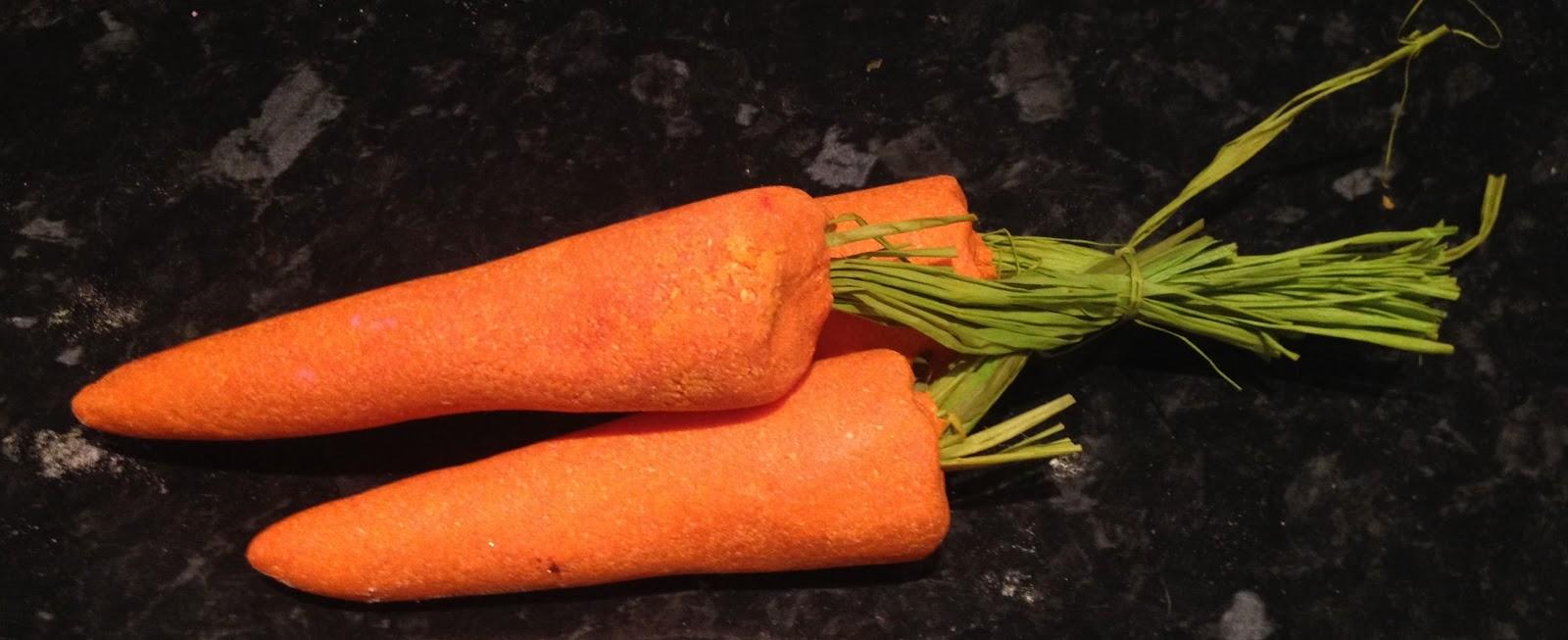 Lush's Easter Range 2014, bunch of carrots