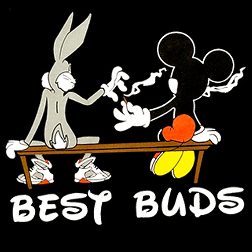 Bugs Bunny And Mickey Mouse Smoking Weed THE WESTERNER: DEA war...