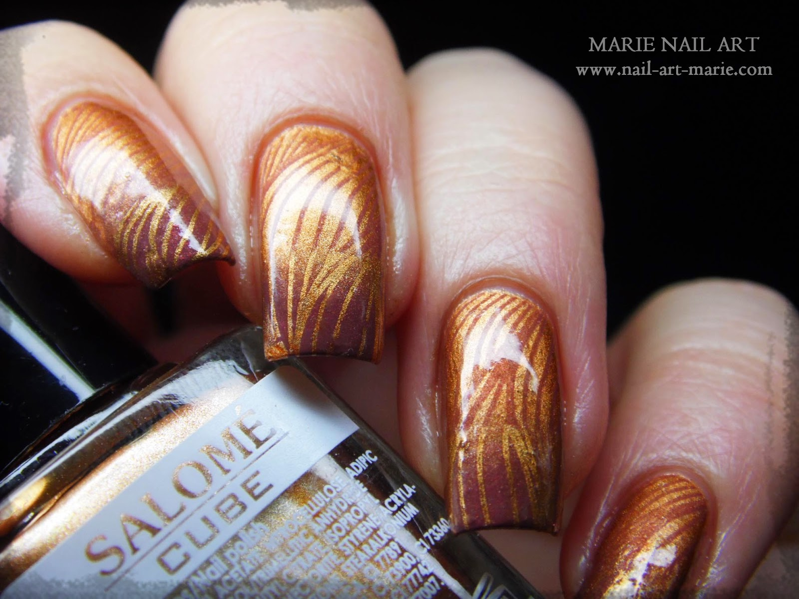 nail art double dégradé7