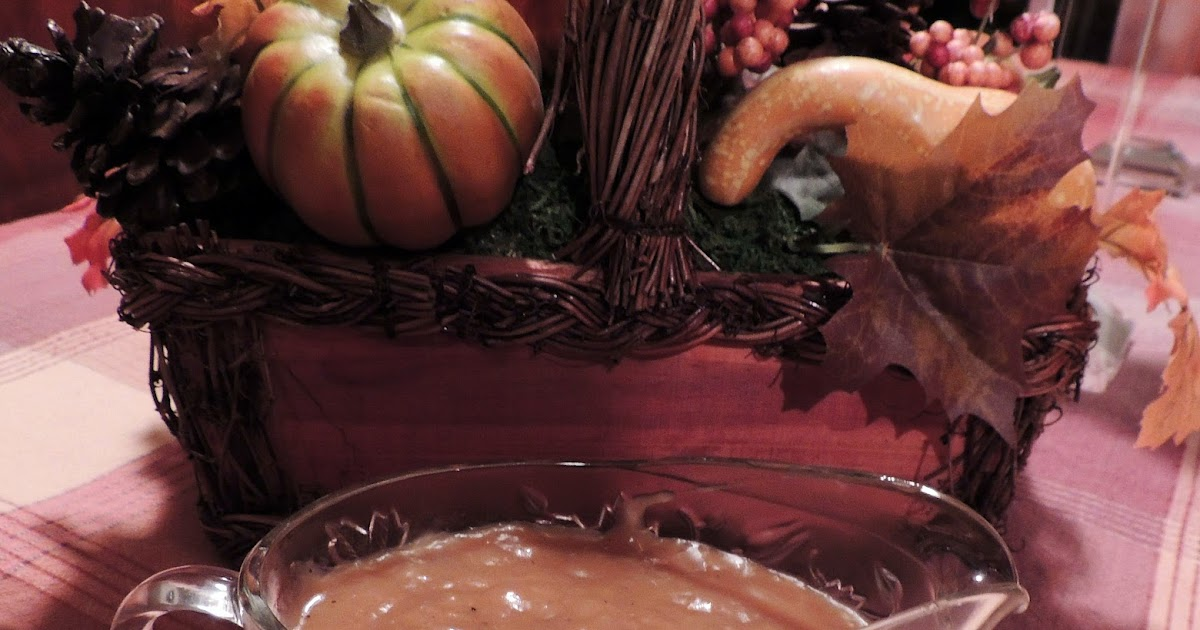 how to make thanksgiving gravy ahead of time