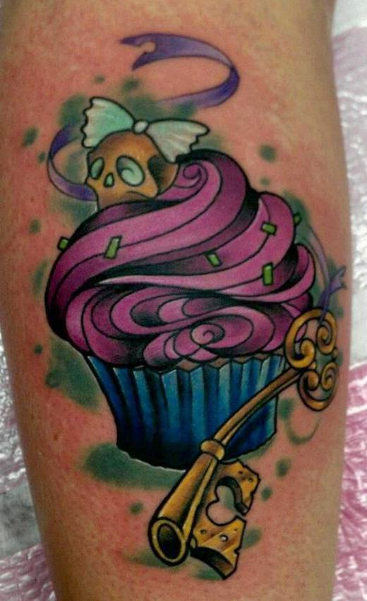 Tatuajes de magdalenas o cupcakes dise os y significado for Wicked ways tattoo