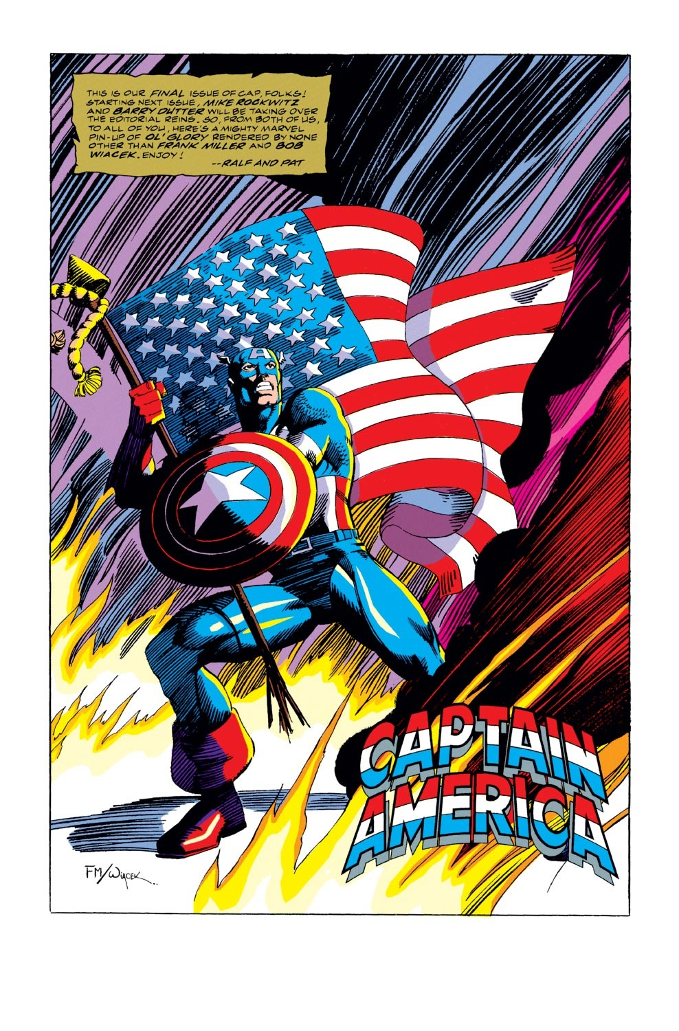 Captain America (1968) Issue #407 #356 - English 25